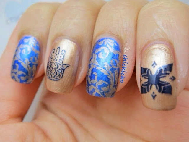 Henna Nail Art - Born Pretty Store Review