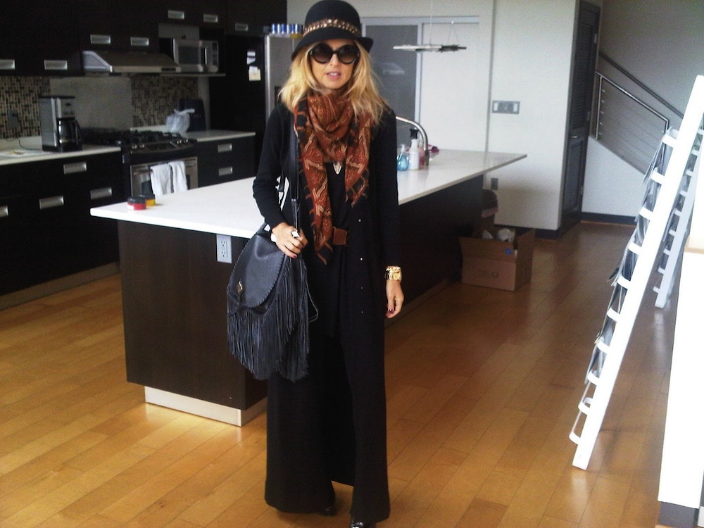Real Life Styling [Rachel Zoe and Vintage Halston]