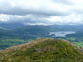 Derwentwater & Keswick from Dodd