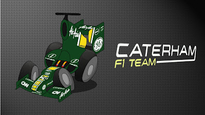 Caterham CT01 2012 Los MiniDrivers