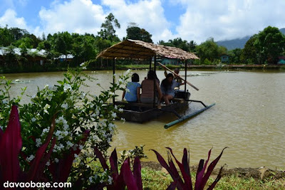Enjoy a boat ride in Lake Mirror at Camp@Tagan
