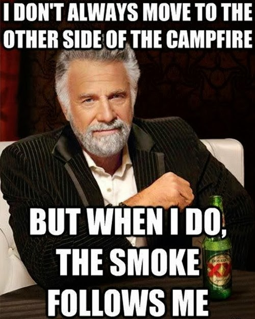 Campfire, firepit, BBQ grill, whatever
