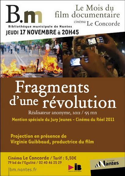 Migawki z ira?skiej rewolucji / Fragments d?une revolution (2010) PL.TVRip.XviD / Lektor PL