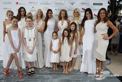девушки Формулы-1 на Amber Lounge Fashion Show на Гран-при Монако 2013