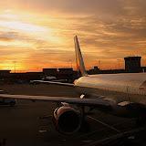 Sunset from Atlanta, Georgia