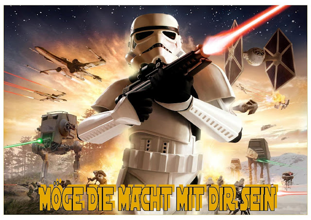 star wars battlefront wandbild 21x30 cm mit rahmen in versch farben mit name ebay. Black Bedroom Furniture Sets. Home Design Ideas