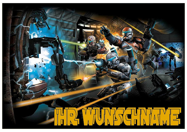 star wars republic commando wandbild 21x30 cm mit rahmen in versch farben ebay. Black Bedroom Furniture Sets. Home Design Ideas