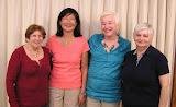 Sept 20  Bracket 2: Bernadine Galin, Sandy Chang, Susan Dobriner, Barbara Lowenstein