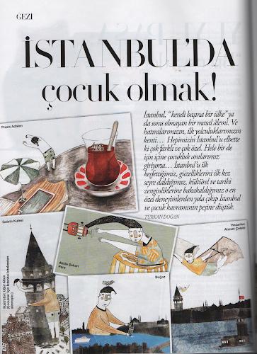Harper's Bazaar Baby&Kids ekinde İstanbul'da Çocuk Olmak yazısı