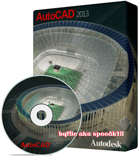 Autodesk AutoCAD 2013 (32bit & 64bit) with crack keygen by ISO