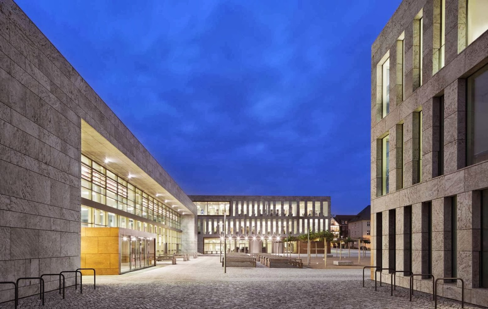Fulda University and State Library by ATELIER 30