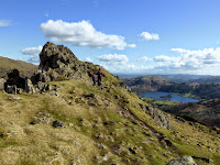 The Lion And The Lamb on Helm Crag with Grasmere