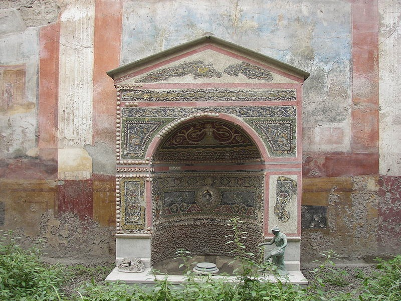 Pompeii's House of the Small Fountain reopens