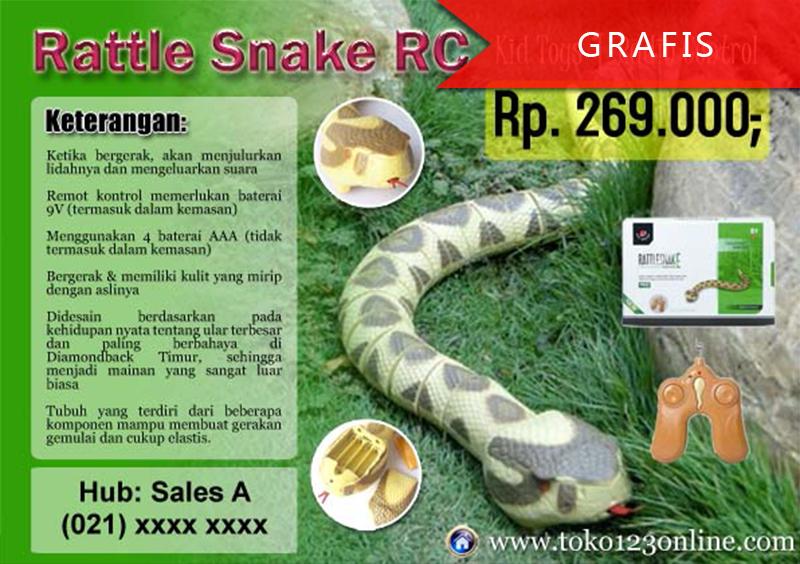 Brosur Rattle Snake