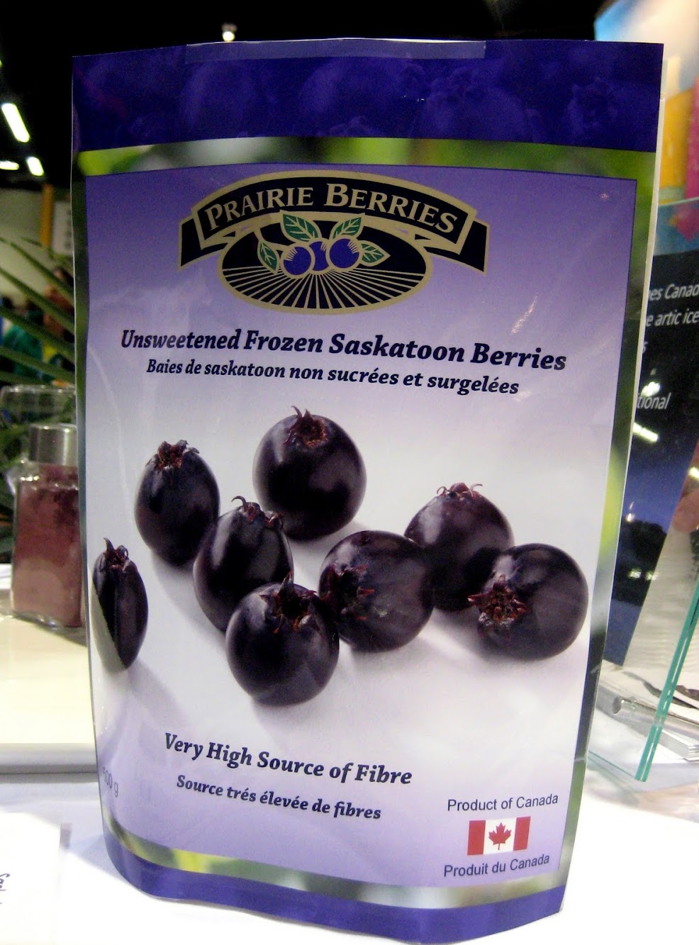 Not all antioxidant superfoods come from exotic places…meet the Prairie Berry!