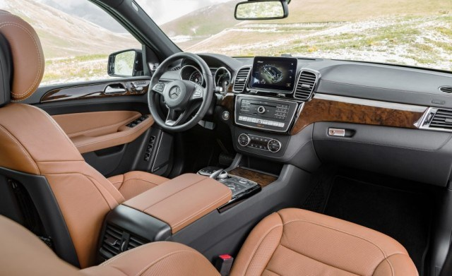 2017 Mercedes GLS Interior Release Date Review Car Price Concept