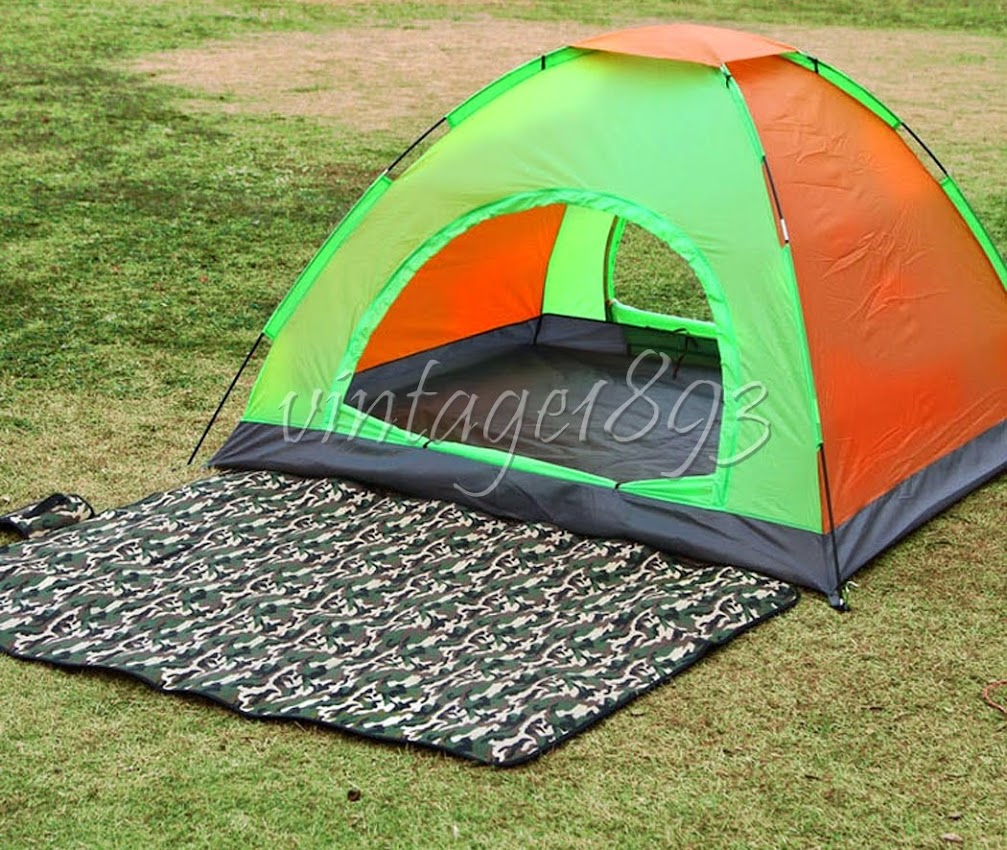 Camouflage Rug Camping Picnic Dampproof Outdoor Camping