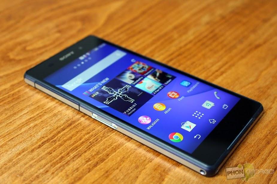 Sony Xperia Z3 - Spesifikasi Lengkap dan Harga