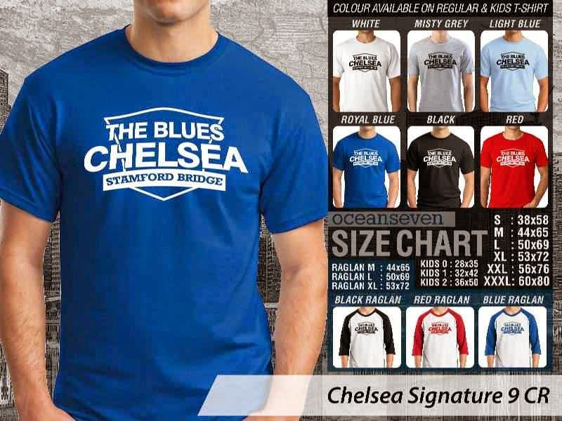 KAOS Chelsea 24 Liga Premier Inggris distro ocean seven