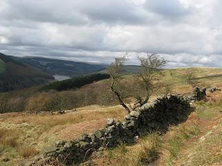 Ladybower from descent of Derwent Edge