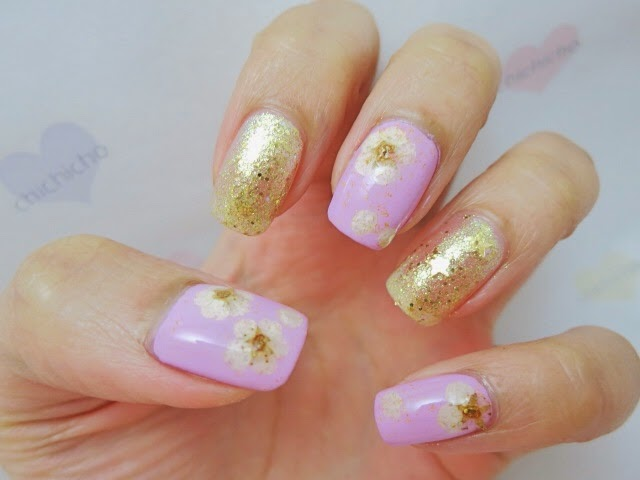 Dried flowers nail art born pretty store review chichicho dried flowers nail art born pretty store review prinsesfo Gallery