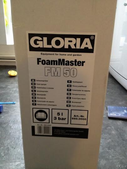 pulv risateur mousse gloria fm50 bmw. Black Bedroom Furniture Sets. Home Design Ideas