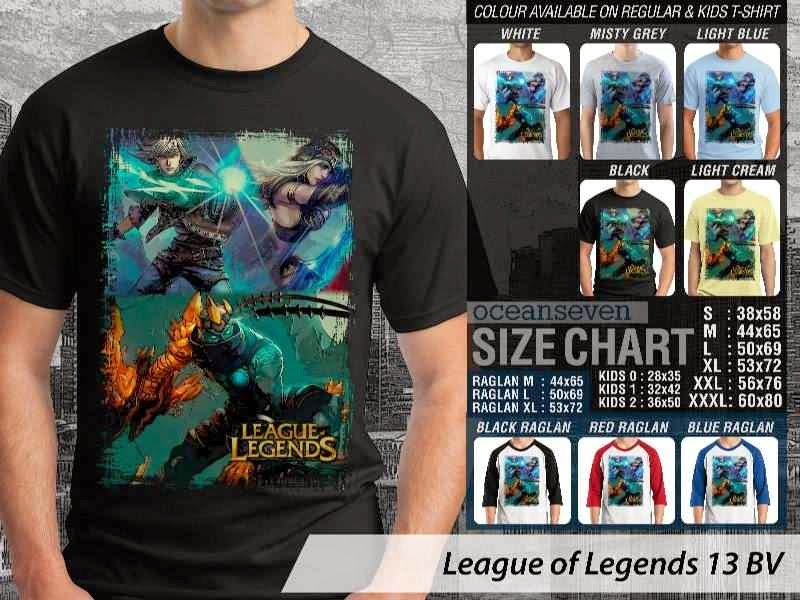 Kaos Game Online League of Legends 13 distro ocean seven