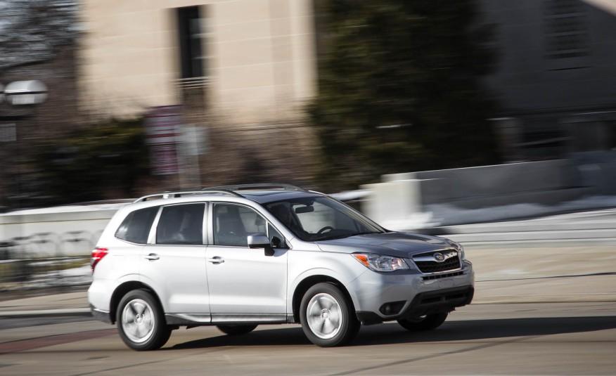 Đánh giá xe Subaru Forester 2016