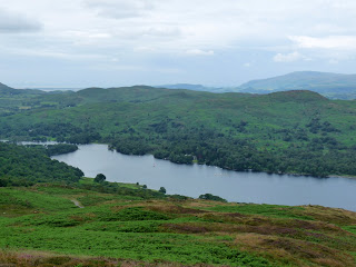 Coniston Water from Top O'Selside.