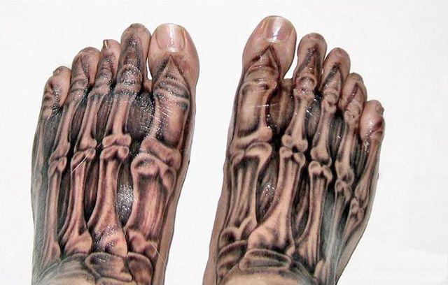 Tatuagens incrivelmente realistas