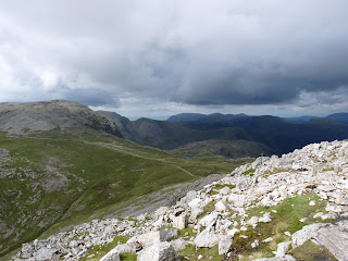 Sprinkling Tarn in the distance