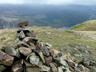 Ennerdale Water from Crag Fell Summit