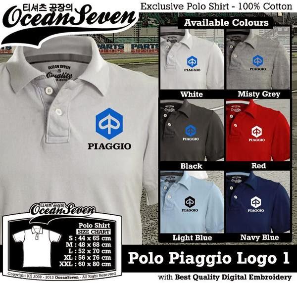 POLO Piaggio Logo distro ocean seven