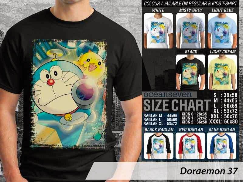 KAOS Doraemon 37 Manga Lucu distro ocean seven