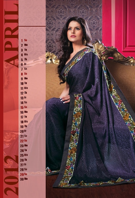 Zarine Khan - Calendar 2012 Seen On www.coolpicturegallery.us