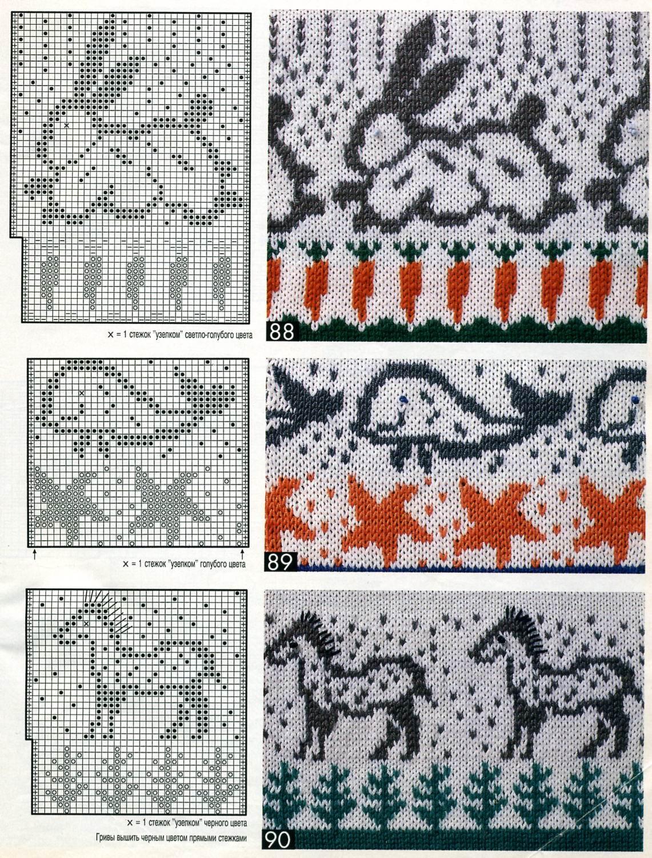 Рисунки на рукавиц схемы с цветами 16 фотография
