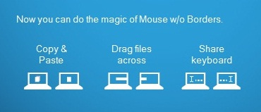 Cara memakai satu mouse untuk banyak PC