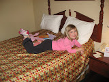 Hannah at hotel in Wilmington - 040910