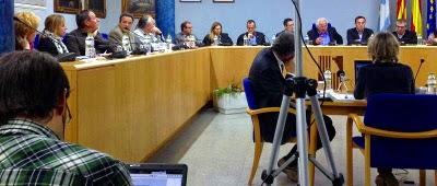 Ple de l'Ajuntament d'Olot 2011 - 2015