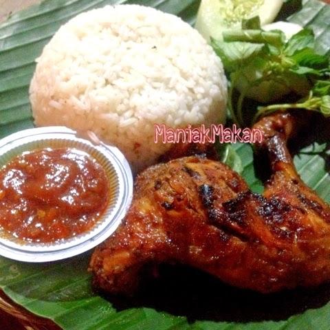 Maniak Makan Ayam Bakar Ganthari Wapress Bulungan Blok M