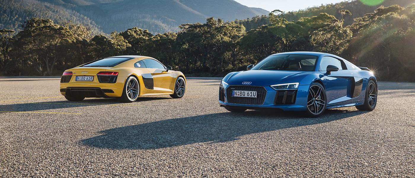 Có lẽ Audi R8 là siêu xe hiếm hoi có thể vừa đi làm, vừa đi chơi...vừa đi đua
