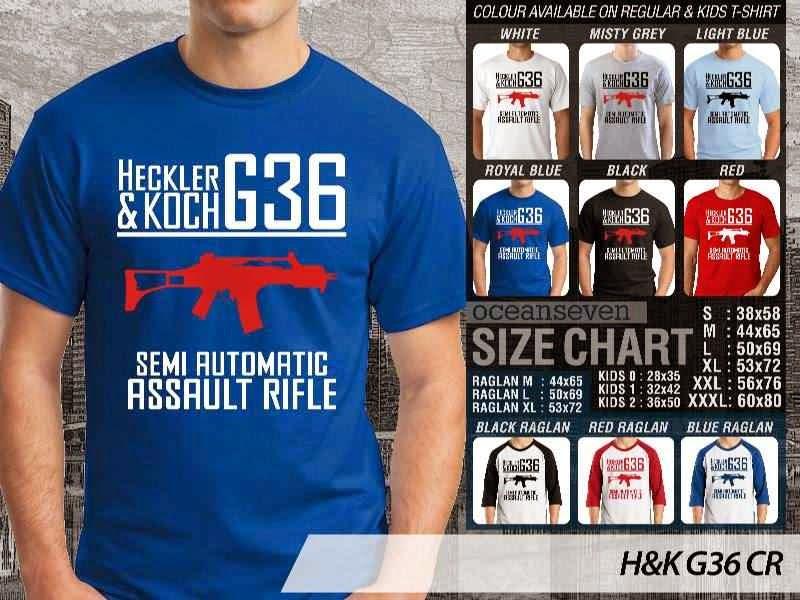 KAOS Militer H&K G36 distro ocean seven