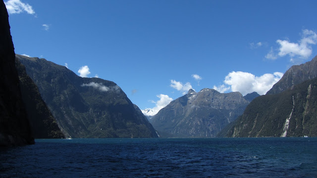 Another view into Milford Sound.