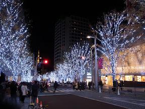 六本木ヒルズのクリスマスイルミネーション2012