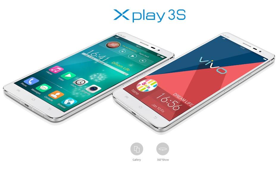 Vivo Xplay 3S - Spesifikasi Lengkap dan Harga