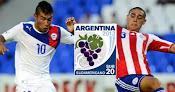 Chile vs. Paraguay - Sudamericano Sub 20 en Vivo - CMD