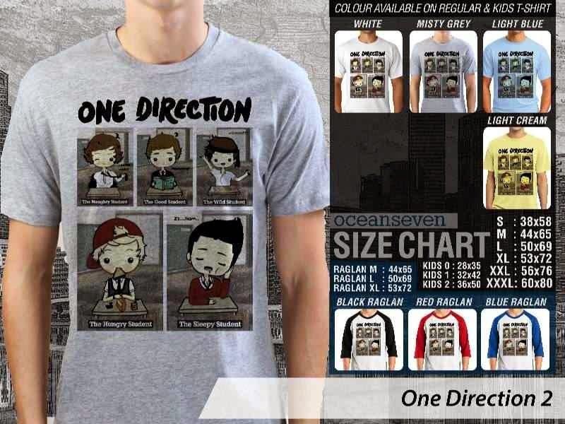 Jual kaos 1D One Direction 14 Musik Boy Band