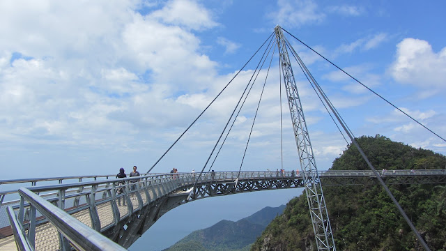 The Langkawi Sky Bridge.
