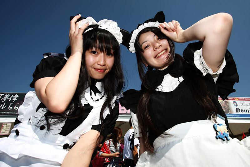 кавайные неки на Гран-при Японии 2011