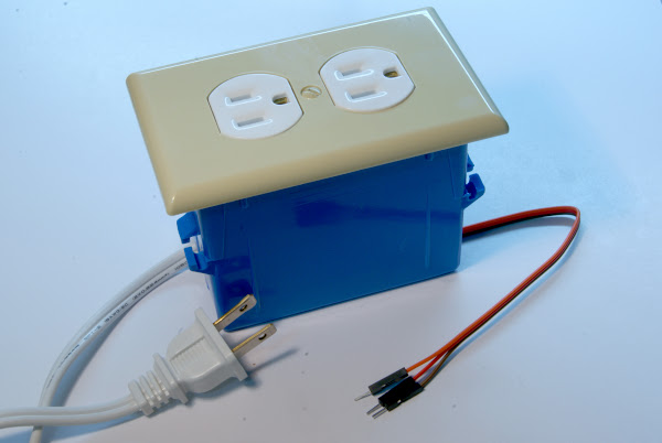 Assembled outlet